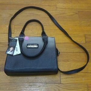 NWT Nicole Miller mid-sized satchel